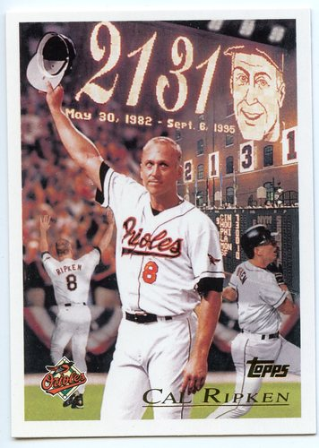 Photo of 2016 Topps Berger's Best Series 2 #BB21996 Cal Ripken Jr.