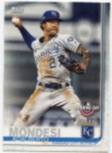 Photo of 2019 Topps Opening Day #7 Adalberto Mondesi