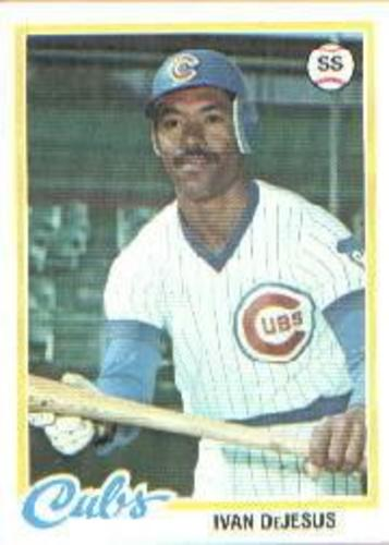 Photo of 1978 Topps #152 Ivan DeJesus RC