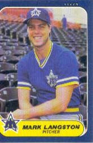 Photo of 1986 Fleer #467 Mark Langston