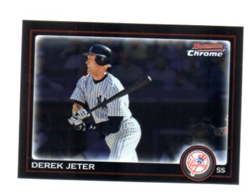 Photo of 2010 Bowman Chrome #147 Derek Jeter