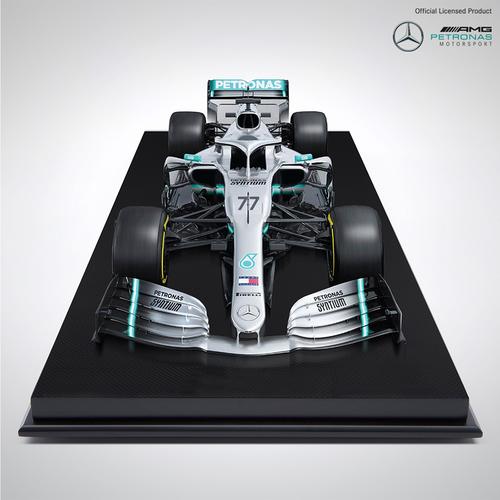 Photo of Valtteri Bottas 1:8 Scale Mercedes-AMG F1 W10 EQ POWER+: Amalgam Collection