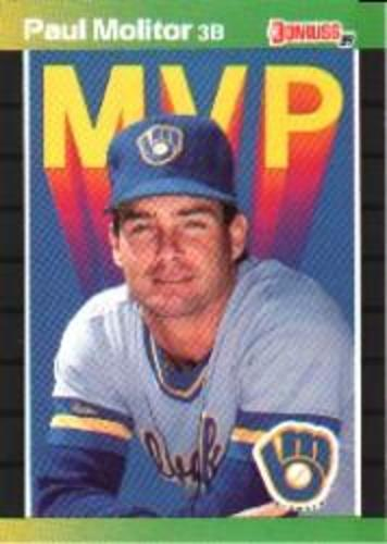 Photo of 1989 Donruss Bonus MVP's #BC9 Paul Molitor