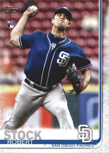Photo of 2019 Topps #684 Robert Stock RC