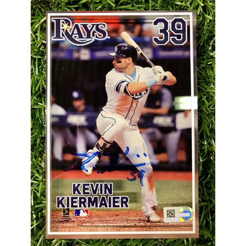 Photo of Rays Baseball Foundation: Autographed 3D Player Block - Kevin Kiermaier