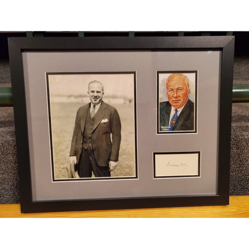 Photo of Warren Giles Autographed Frame