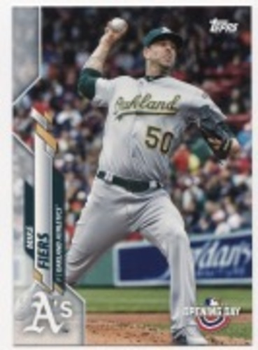 Photo of 2020 Topps Opening Day #58 Mike Fiers