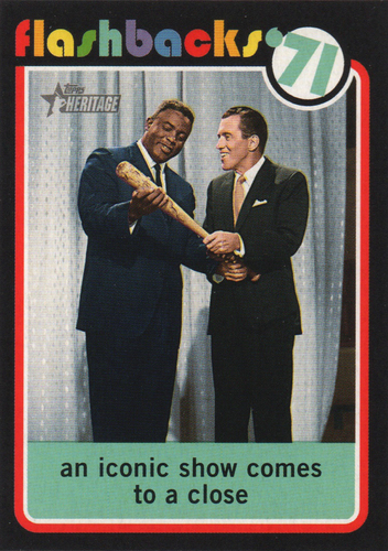 Photo of 2020 Topps Heritage News Flashbacks #NF3 The Ed Sullivan show airs last episode