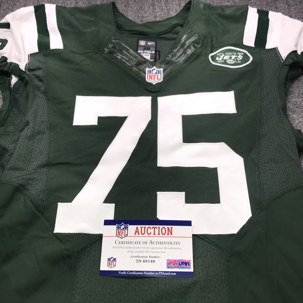 NFL Auction   Jets - David Harris Game Issued Jersey Size 46