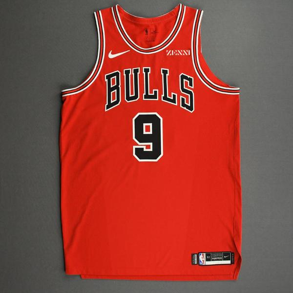 Image of Patrick Williams - Chicago Bulls - Kia NBA Tip-Off 2020 - Game-Worn Icon Edition Jersey - NBA Debut (4th Overall Draft Pick)