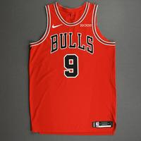 Patrick Williams - Chicago Bulls - Kia NBA Tip-Off 2020 - Game-Worn Icon Edition Jersey - NBA Debut (4th Overall Draft Pick)