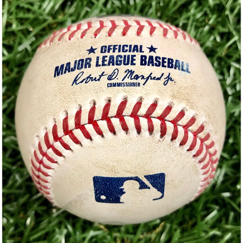 Photo of Game Used Baseball: Michael Perez foul ball off Hector Neris - September 27, 2020 v PHI