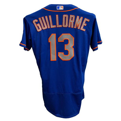 Photo of Luis Guillorme #13 - Team Issued Blue Alt. Road Jersey - 2020 Season