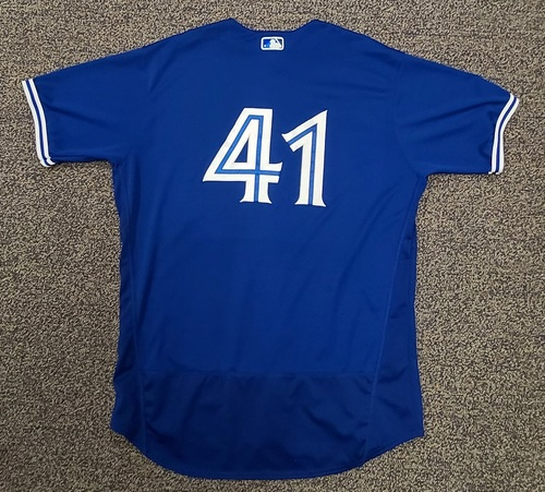 Photo of Authenticated Team Issued Spring Training Jersey: #41 Rafael Dolis (2021 Season). Size 50.