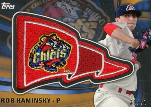 Photo of 2015 Topps Pro Debut Pennant Patches Gold #PPRK Rob Kaminsky