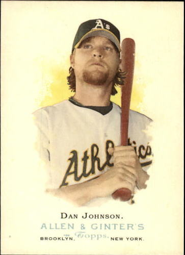 Photo of 2006 Topps Allen and Ginter #66 Dan Johnson