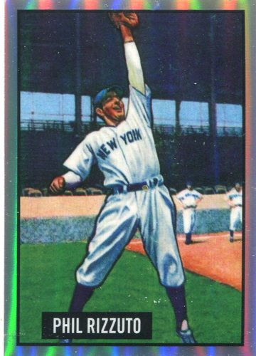 Photo of 2017 Bowman Chrome '51 Bowman Refractors #4 Phil Rizzuto