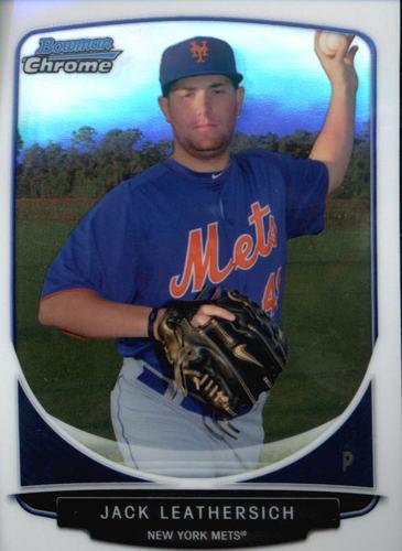 Photo of 2013 Bowman Chrome Prospects #BCP116 Jack Leathersich