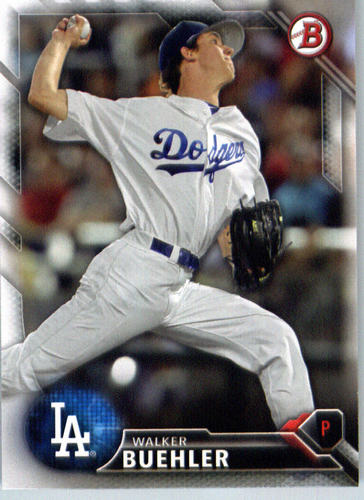 Photo of 2016 Bowman Prospects #BP78 Walker Buehler