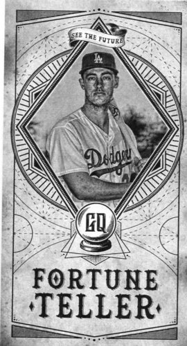 Photo of 2018 Topps Gypsy Queen Fortune Teller Mini #FTM10 Cody Bellinger