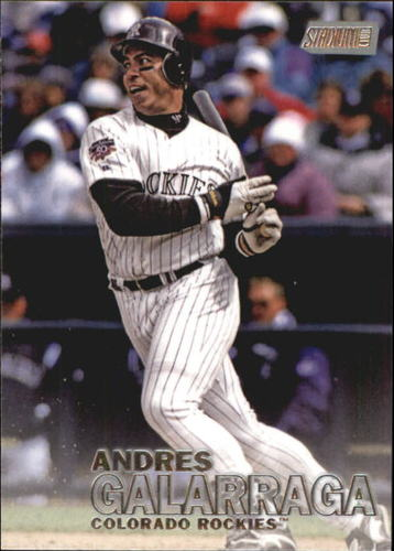 Photo of 2016 Stadium Club #244 Andres Galarraga
