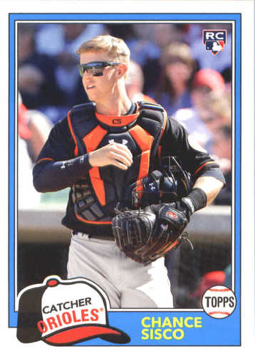 Photo of 2018 Topps Archives #211 Chance Sisco RC