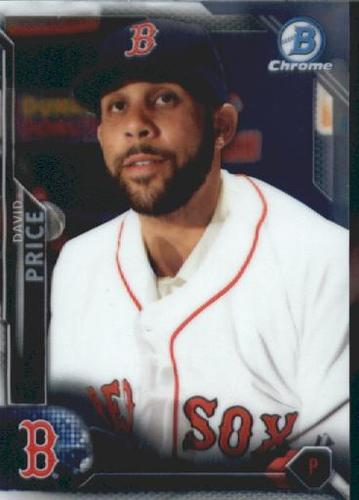 Photo of 2016 Bowman Chrome Vending '16 Bowman #92 David Price