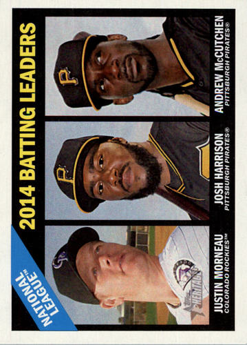 Photo of 2015 Topps Heritage #215 Justin Morneau/Andrew McCutchen/Josh Harrison
