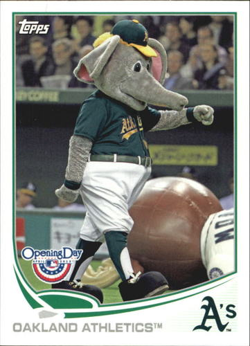 Photo of 2013 Topps Opening Day Mascots #M6 Oakland Athletics