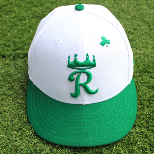 Photo of Team-Issued St. Patrick's Day Cap: Heath Fillmyer (Size 6 7/8)