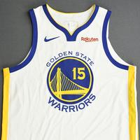 Damian Jones - Golden State Warriors - 2019 NBA Finals - Game 3 - Game-Worn White Association Edition Jersey
