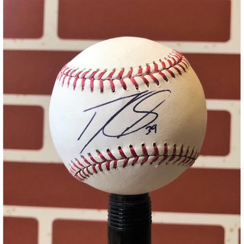 Photo of Danny Santana Autographed Baseball