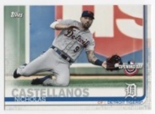 Photo of 2019 Topps Opening Day #11 Nicholas Castellanos