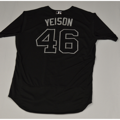 "Photo of Gerson ""YEISON"" Bautista Seattle Mariners Team-Issued 2019 Players' Weekend Jersey"