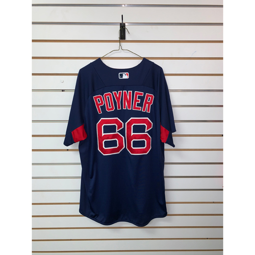 Bobby Poyner Team Issued Road Batting practice Jersey
