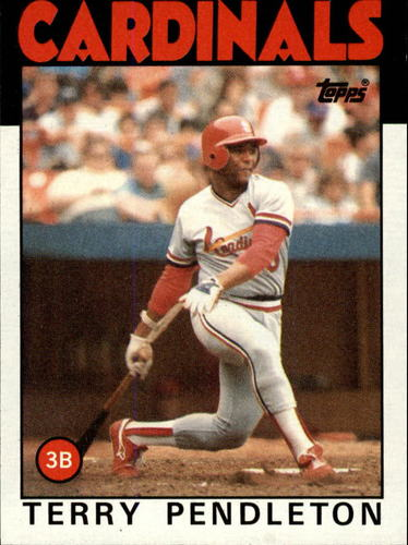 Photo of 1986 Topps #528 Terry Pendleton