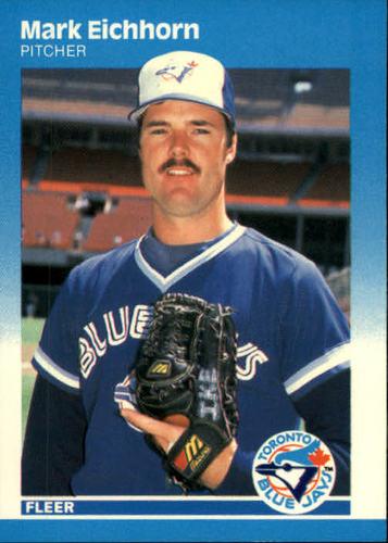 Photo of 1987 Fleer #224 Mark Eichhorn