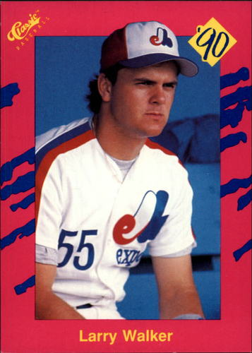 Photo of 1990 Classic Update #T16 Larry Walker