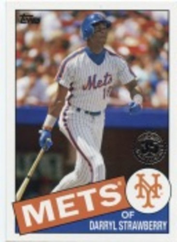 Photo of 2020 Topps '85 Topps #8565 Darryl Strawberry