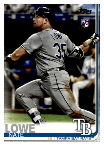 Photo of 2019 Topps Update #US291 Nate Lowe RC