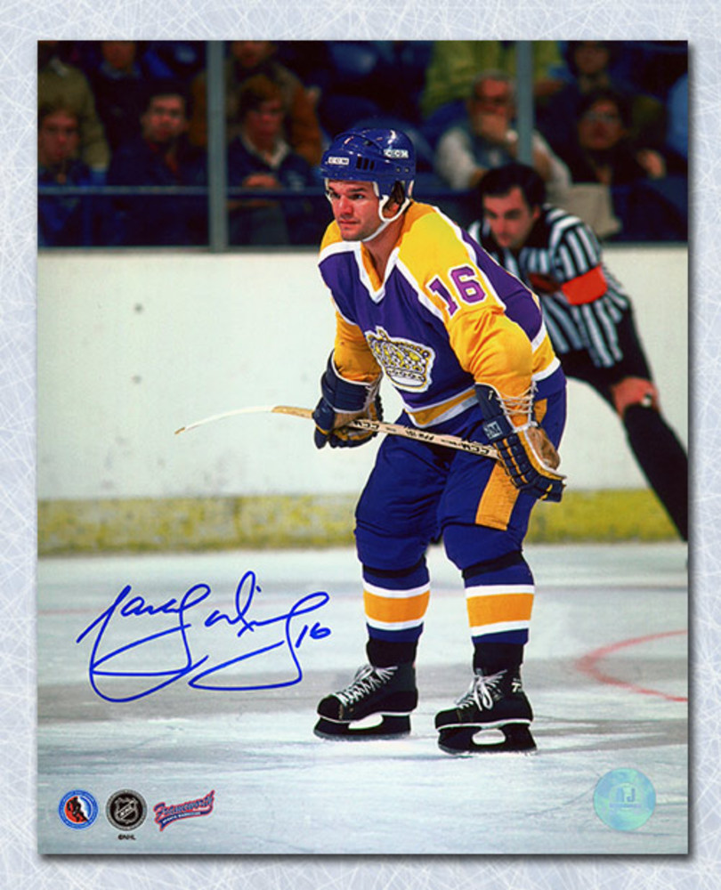 Marcel Dionne Los Angeles Kings Autographed On Ice 8x10 Photo
