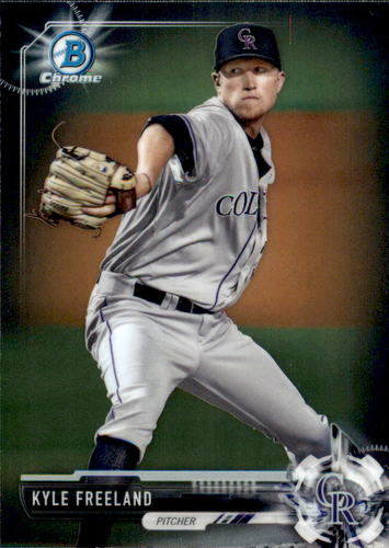 Photo of 2017 Bowman Chrome Prospects #BCP109 Kyle Freeland