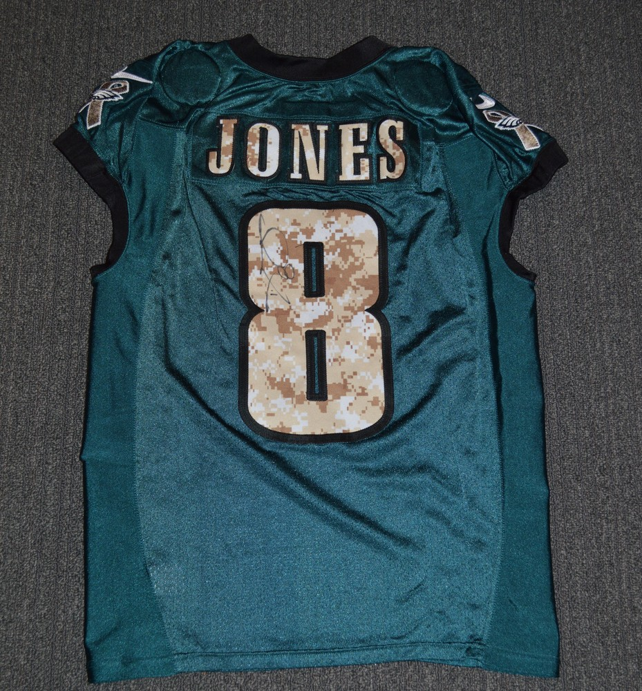 NFL Auction   EAGLES - Donnie Jones SALUTE TO SERVICE SIGNED ...
