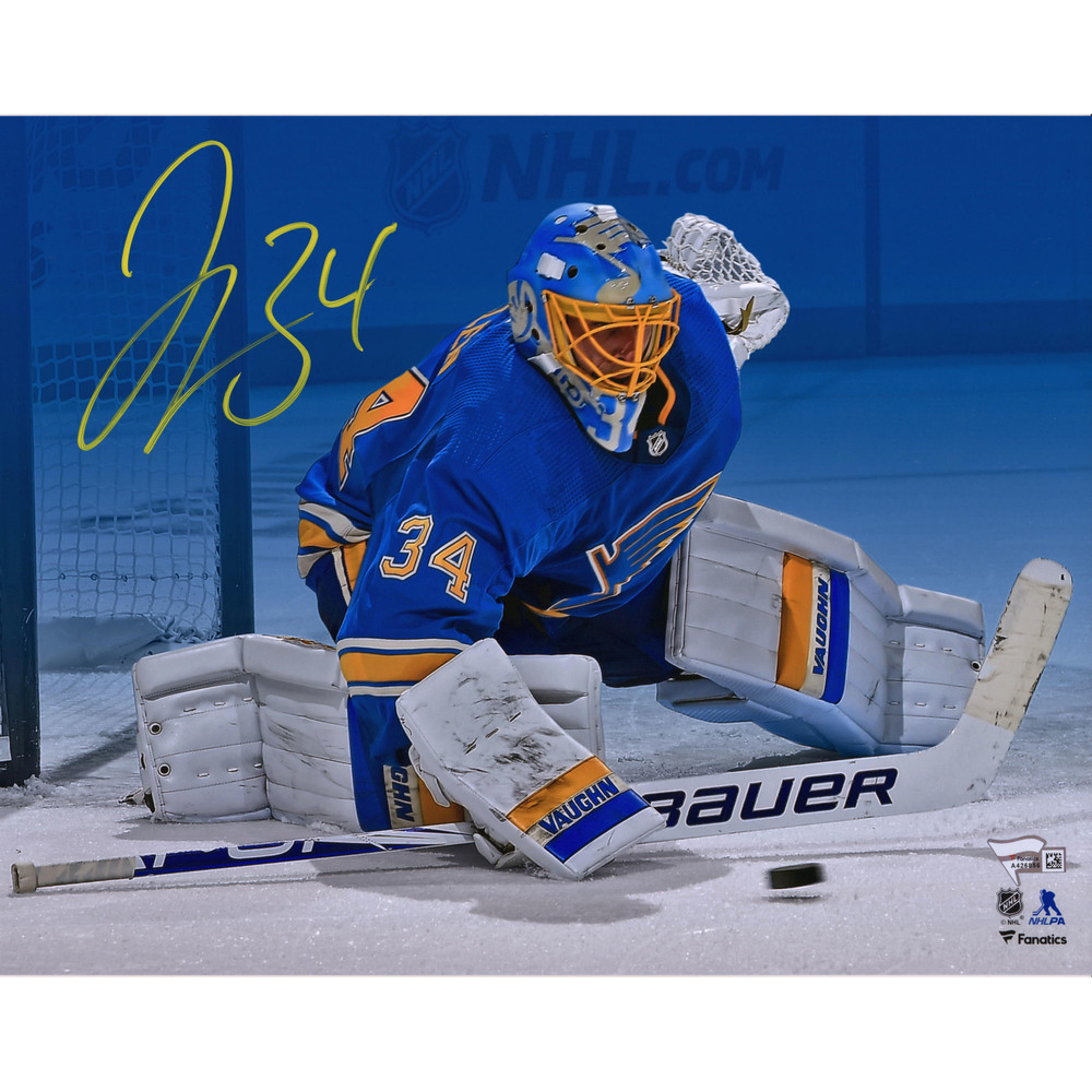 Jake Allen St. Louis Blues Autographed 11