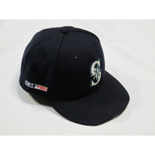 f9787044c0e Game-Used Opening Day Navy Cap - Red Sox vs. Mariners - 3