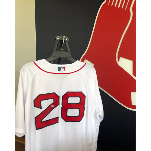 Photo of Autographed J.D. Martinez Jersey