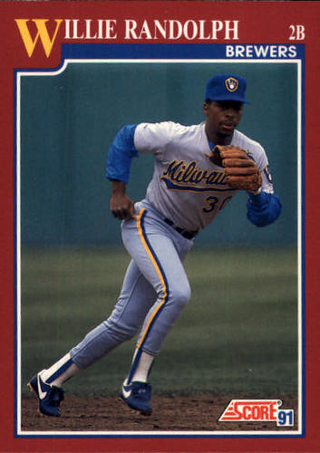 Photo of 1991 Score Rookie/Traded #35T Willie Randolph