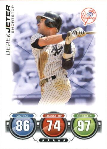 Photo of 2010 Topps Attax #93 Derek Jeter