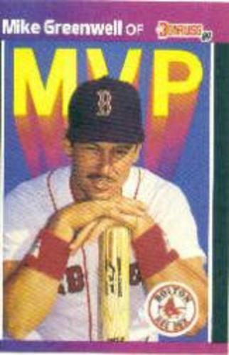 Photo of 1989 Donruss Bonus MVP's #BC13 Mike Greenwell
