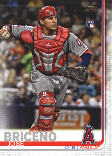 Photo of 2019 Topps #689 Jose Briceno RC